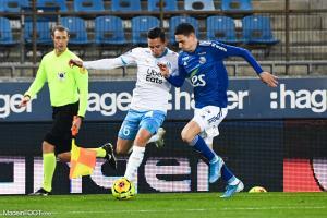 Strasbourg a perdu (0-1) face à l'Olympique de Marseille en concédant qu'un seul tir cadré