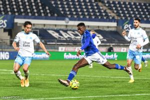 L'album photo du match entre le RC Strasbourg Alsace et l'Olympique de Marseille.