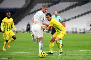 L'album photo du match entre l'Olympique de Marseille et le FC Nantes.