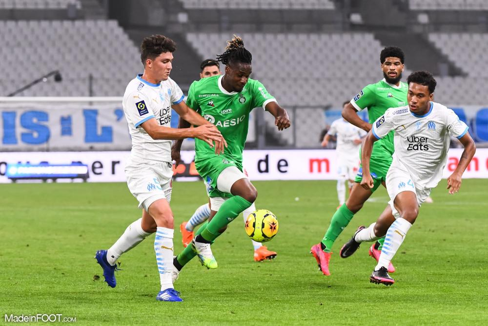 L'Olympique de Marseille s'est incliné face à l'AS Saint-Etienne (0-2), ce jeudi soir en Ligue 1.
