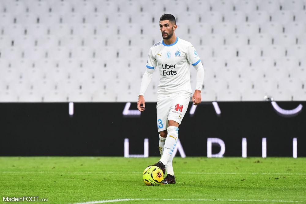 Alvaro Gonzalez, le défenseur central de l'Olympique de Marseille.