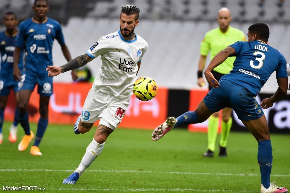 Dario Benedetto, l'attaquant de l'Olympique de Marseille.