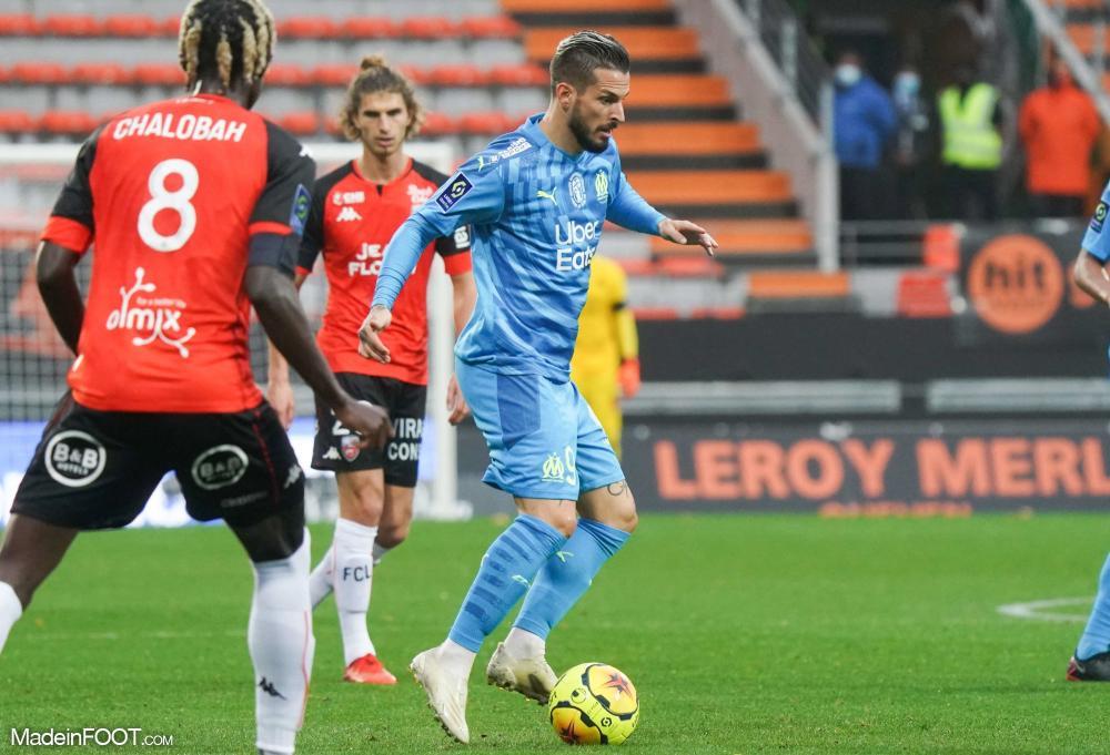 L'Olympique de Marseille s'est imposé sur la pelouse du FC Lorient (0-1), ce samedi après-midi en Ligue 1.