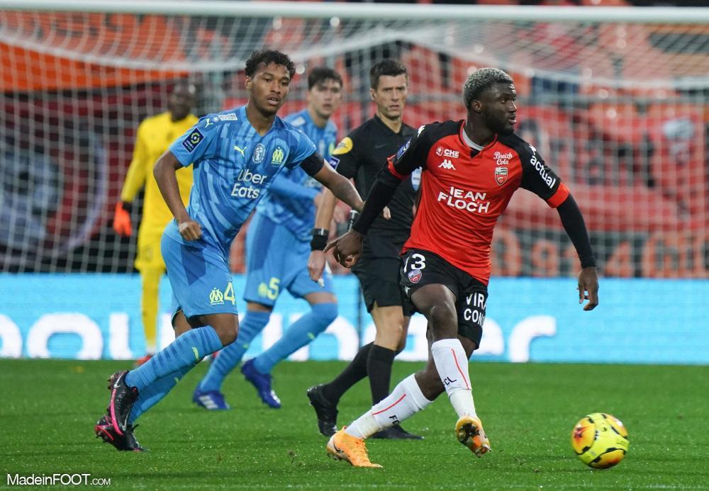 Marseille gagne in extremis la rencontre contre Lorient