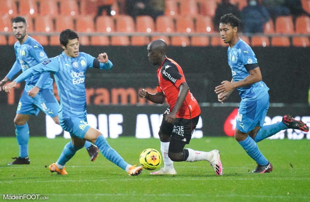 L'album photo du match entre le FC Lorient et l'Olympique de Marseille.