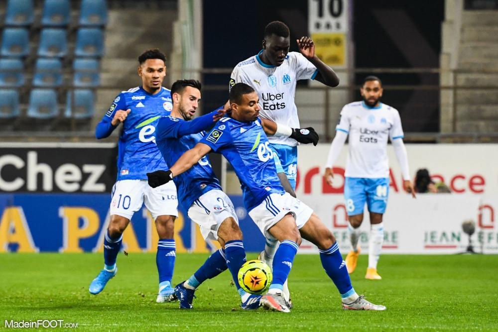 Au match aller en novembre dernier, les Marseillais s'étaient imposés 1-0 à Strasbourg