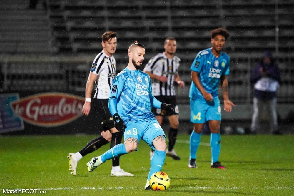 Dario Benedetto contre le SCO d'Angers