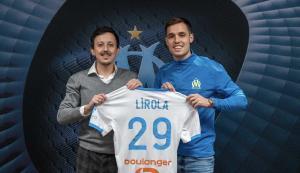 Pablo Longoria (à gauche) et Pol Lirola (à droite)