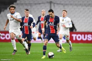 L'album photo du match entre l'Olympique de Marseille et le Paris Saint-Germain.