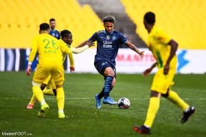 Boubacar Kamara, le défenseur central ou milieu de terrain défensif de l'Olympique de Marseille.