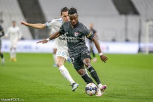 L'album photo du match entre l'Olympique de Marseille et l'Olympique Lyonnais.