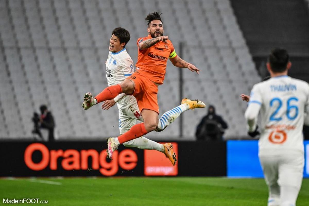 Andy Delort a quitté Montpellier pour Nice cet été