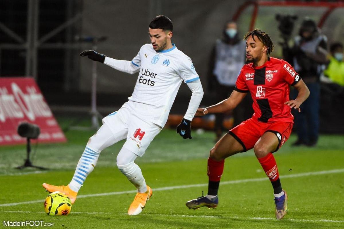 Nemanja Radonjic, ailier gauche de l'Olympique de Marseille