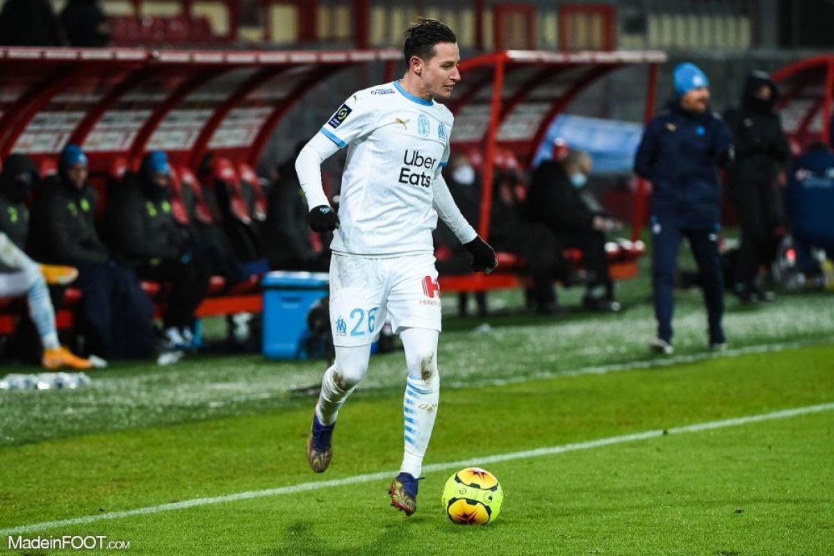 Florian Thauvin, ailier de l'Olympique de Marseille