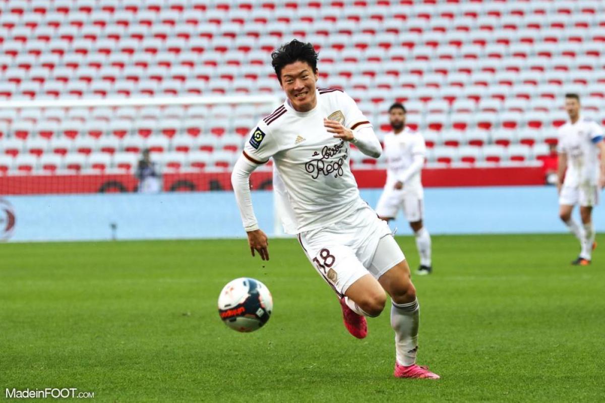 Ui-jo Hwang en pleine course