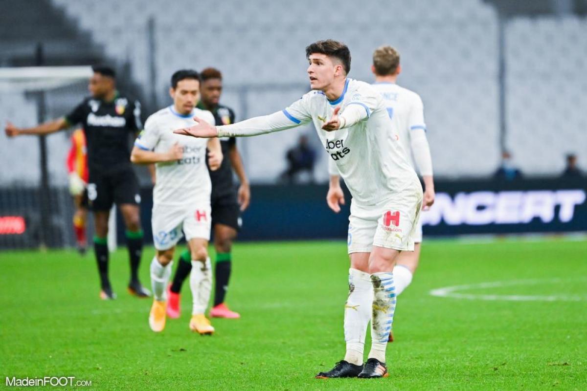 Leonardo Balerdi a disputé 21 matchs de Ligue 1 cette saison avec l'OM
