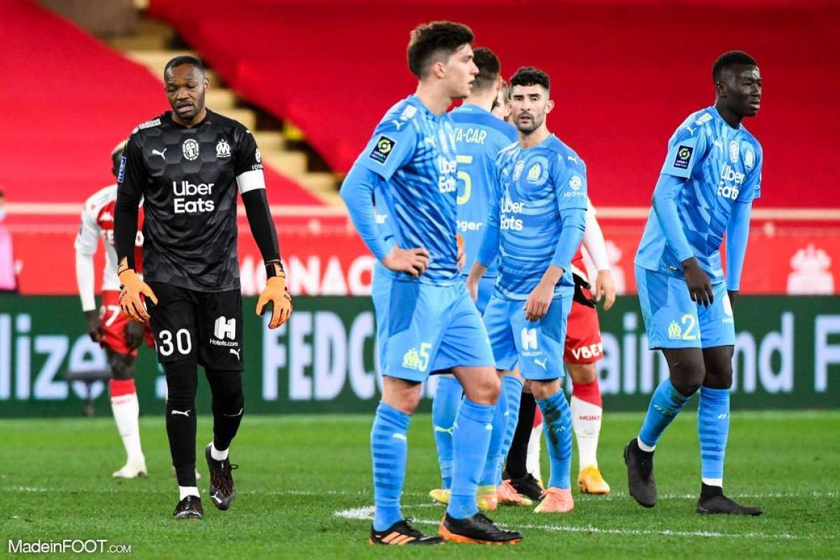 Les compos officielles du match entre l'AS Monaco et l'Olympique de Marseille.
