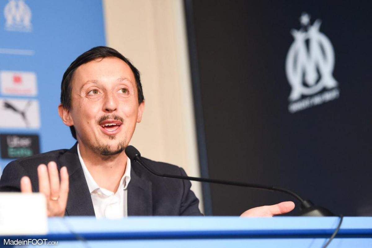 Pablo Longoria, président de l'Olympique de Marseille depuis février 2021