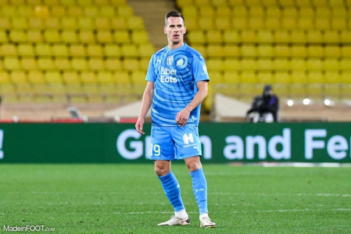Arkadiusz Milik, attaquant de l'Olympique de Marseille