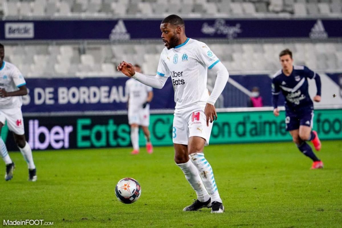 Olivier Ntcham a disputé 6 matchs avec l'OM.