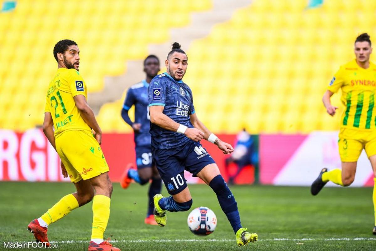 L'Olympique de Marseille et le FC Nantes se sont séparés sur un score nul (1-1), ce samedi après-midi en Ligue 1.