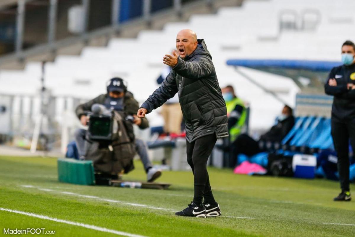Jorge Sampaoli, entraineur de l'Olympique de Marseille