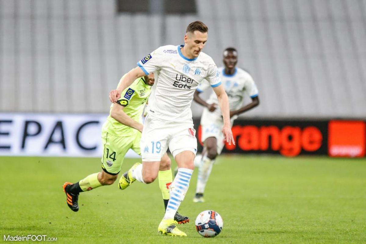 Milik ne sera pas à Angers mais pourra peut-être jouer contre Lens.