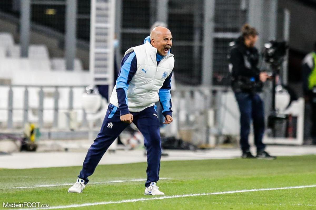 Jorge Sampaoli, entraîneur de l'OM