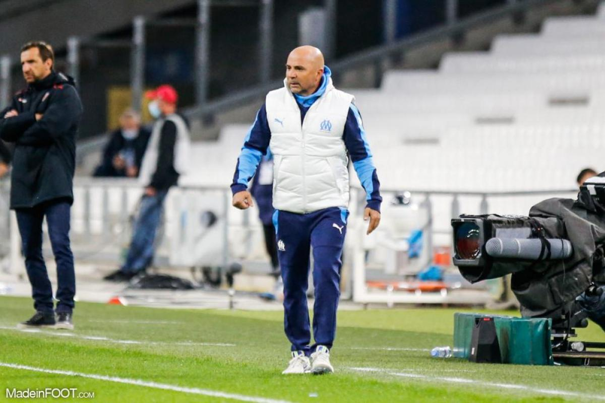 Jorge Sampaoli, l'entraîneur de l'Olympique de Marseille.