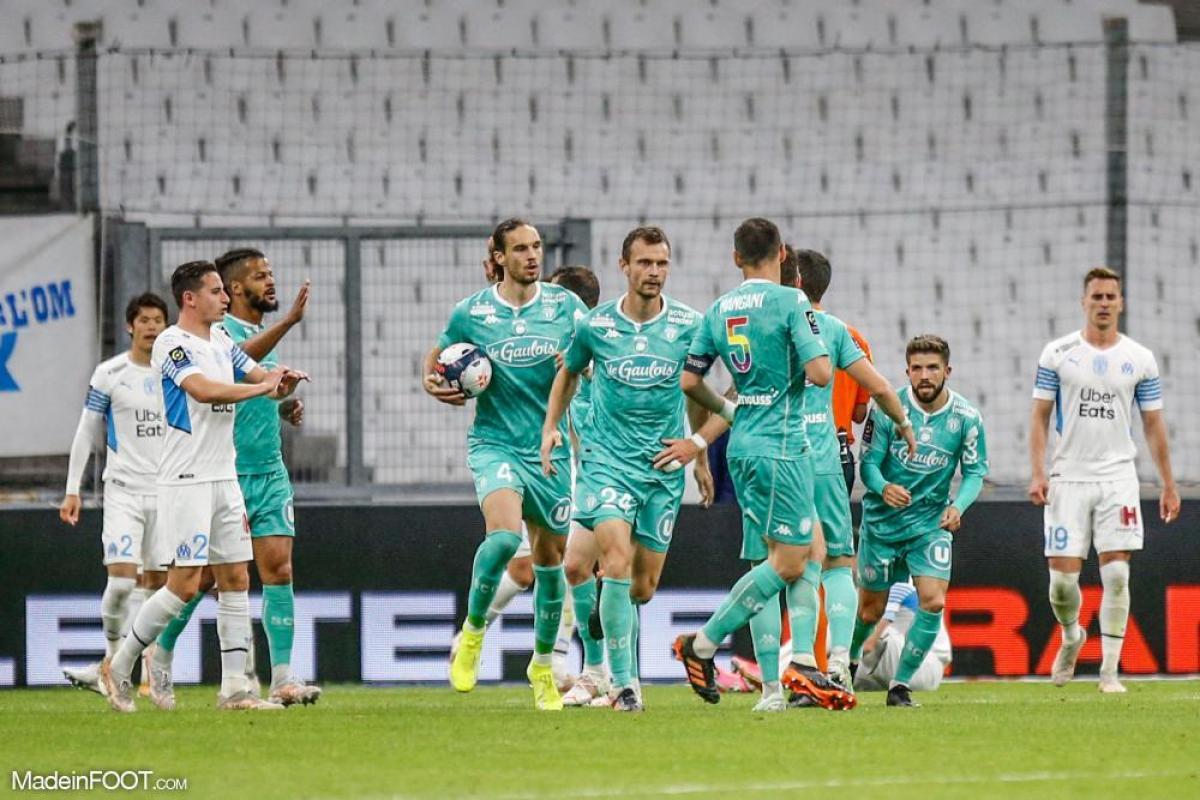 L'album photo du match entre l'Olympique de Marseille et le SCO Angers.