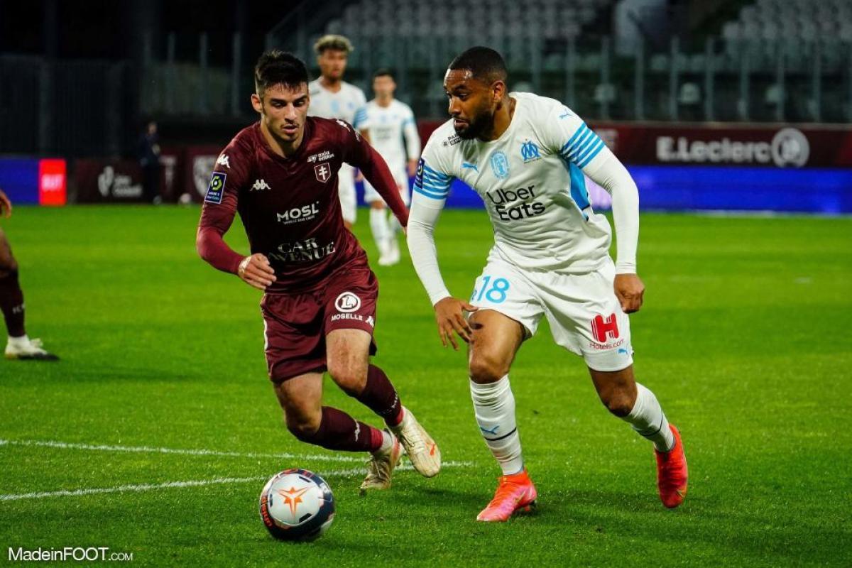 Jordan Amavi, latéral gauche de l'Olympique de Marseille
