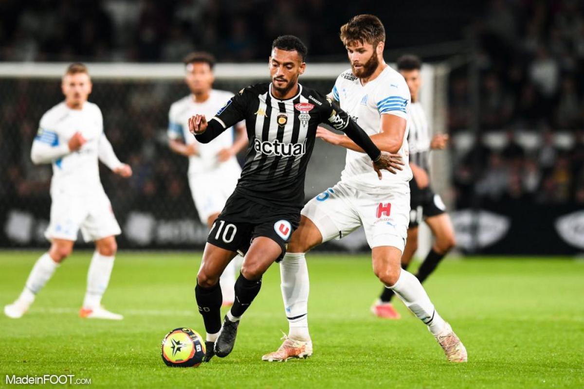 L'album photo du match entre le SCO Angers et l'Olympique de Marseille.