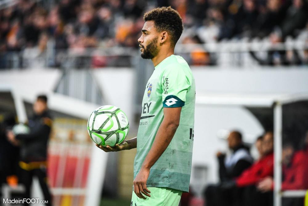 Christopher Rocchia, ici sous les couleurs du FC Sochaux-Montbéliard.