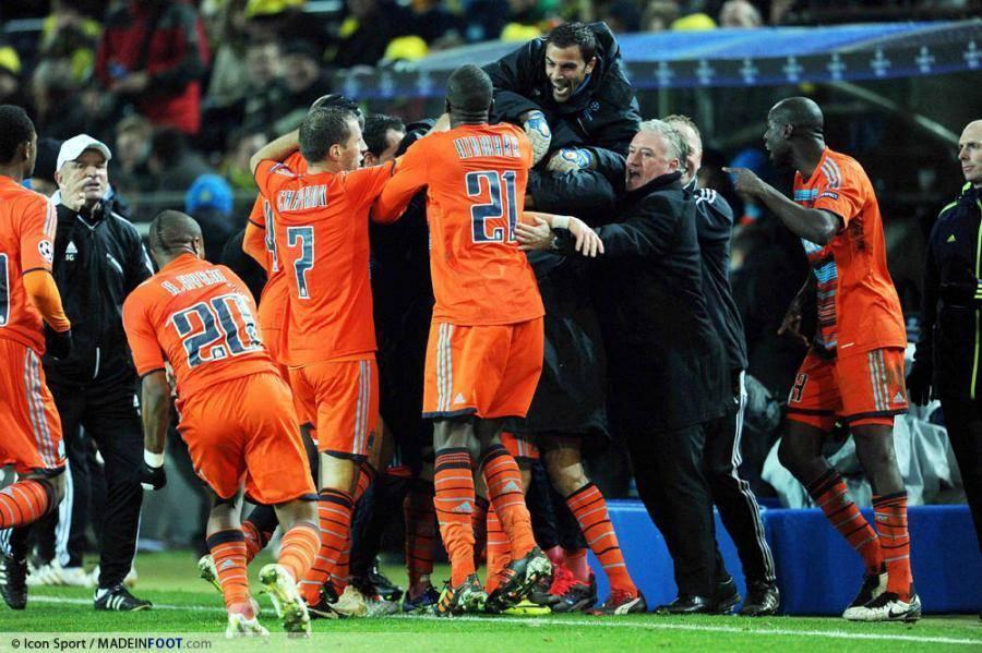 Les joueurs de l'Olympique de Marseille veulent rééditer leur magnifique prestation d'il y a deux ans