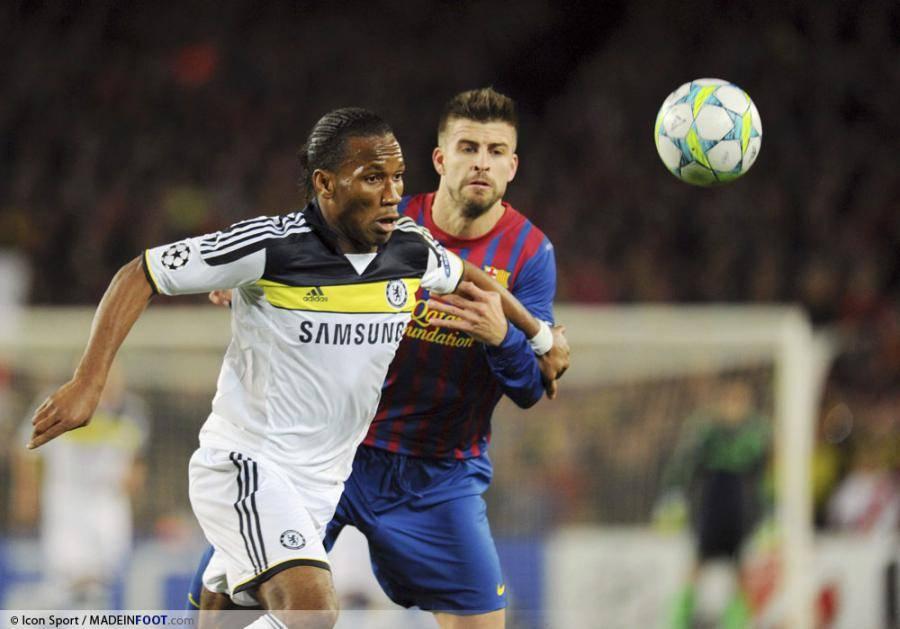 Didier Drogba, ici sous les couleurs de Chelsea.