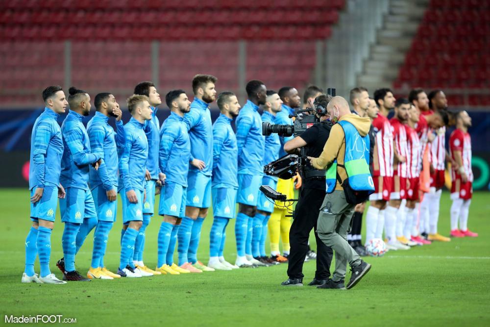 L'Olympique de Marseille s'apprête à défier Manchester City.