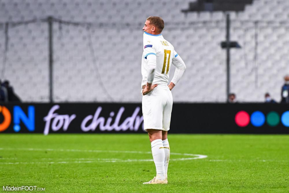 Michaël Cuisance, milieu de terrain de l'Olympique de Marseille