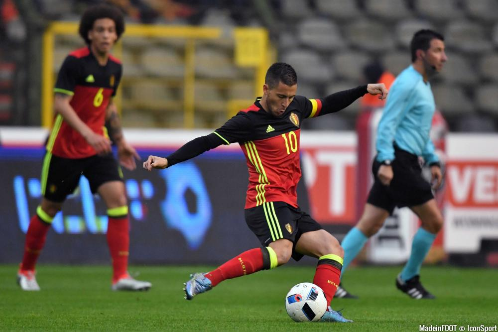 Eden Hazard et la Belgique ont été accrochés par la Finlande, mercredi soir