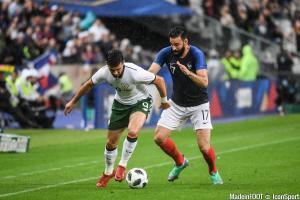Les compos officielles du match entre la France et l'Italie.