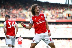 David Luiz, défenseur d'Arsenal