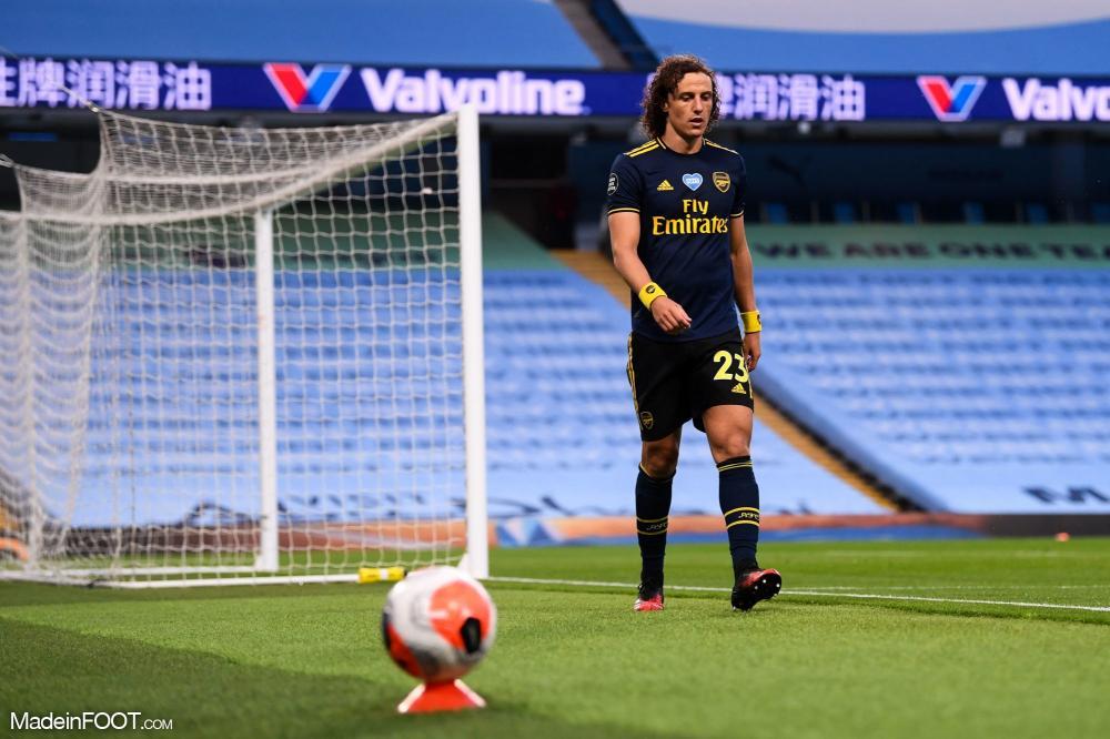 David Luiz avec Arsenal