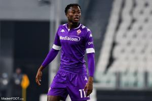 Christian Kouamé (Fiorentina) est dans le viseur de l'OM